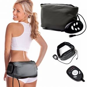 Massage Pro Sauna Belt Anti Fat Vibrate Massager Slim Waist Belly Weight Loss (code - Jm Mg Pr 02)