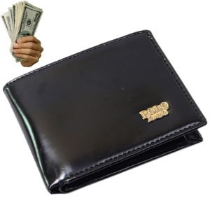 Mens Leather Wallet Credit Business Card Holder Money Bag Purse (code - Jm Mn Wt 30)