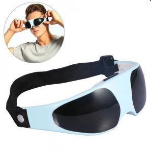 Eye Care Massage Relax Massager Mask Travel Stress Buster Vibrating (code - Ms Gr 30 A)