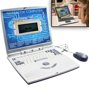 22 Activities English Learner Kids Educational Laptop Kids Toys - N24