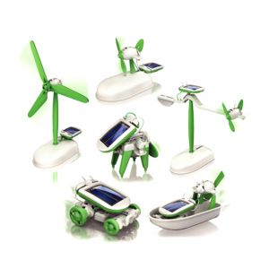 6 In 1 Solar Educational Kit Boat Fan Car Robot Kids Toys Gift Game (code - Jm Nr Ty 106)