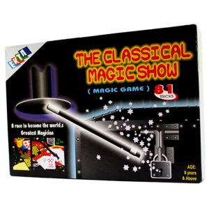 81 Magic Tricks Kit Perform Your Own Magic Show Educational Toys Kids (code - Jm Nr Ty 111)