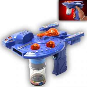 Space Blaster Gun Shoot Set Shooter With Light Sound Toys Kids Gift (code - Jm Nr Ty 135)