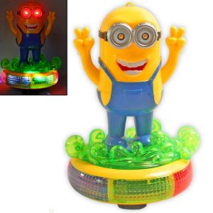 Funny Minion With Light Sound Battery Operated Toys Kids Gift (code - Jm Nr Ty 50)