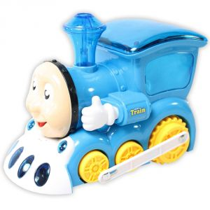 Funny 3d Light Train Engine Sound Battery Operated Toys Kids Gift (code - Jm Nr Ty 51)
