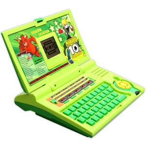 20 Activities Ben 10 English Learner Educational Laptop Kids Toys (code - Jm Nr Ty 88)