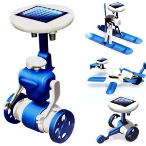 6 In 1 Solar Educational Kit Boat Fan Car Robot Kids Toys Gift Game (code - Jm Nr Ty 97)