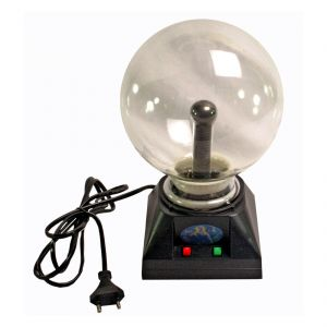 10cm Plasma Light Lamp Ball Finger Touch And Glow Home Decor Laser (code - Pl Bl 03 A)