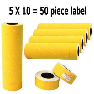 50 Rolls Price Labels Paper Tag Mark Sticker For Mx-6600/mx550 Gun Labeler (code - Jm Pr Lb 01)