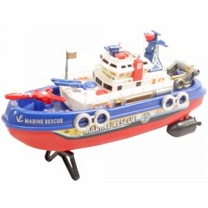 26.5cm Radio Control Rc Racing Kids Toys Toy Patrol Boat Gift Remote Car - R67