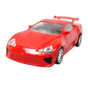 Rechargeable 21cm Radio Control Rc Racing Car Kids Toys Gift Remote Red (code - Jm Rc Ty 129)