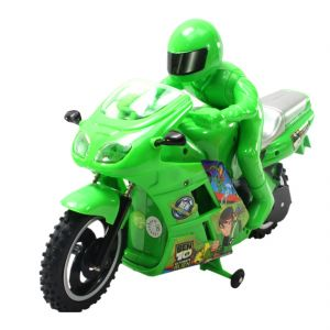 Ben Ten 30cm Bike Scooter Radio Remote Control Rc Racing Car Kids Toys (code - Jm Rc Ty 130)