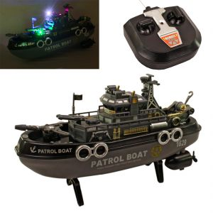 Remote Control Toys - Radio Control RC Racing 30cm Kids Toys Toy Patrol Boat Gift Remote Car (Code - JM RC TY 33)
