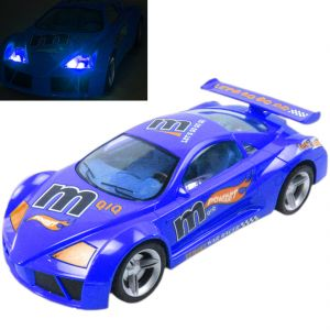 Rechargeable 35cm Radio Control Rc Racing Car Kids Toys Toy Gift Remote Blue (code - Jm Rc Ty 54)