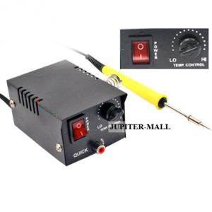 12w Temperature Control Soldering Station Iron Tool Solder Welding - 03