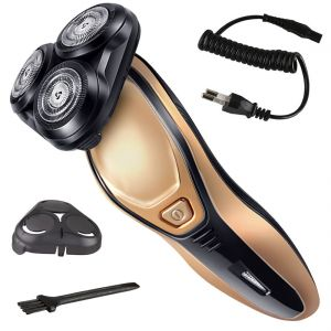 Trimmers - Kemei Rechargeable Triple Bladed Hair Shaver with Trimmer Clipper for Men (Code - 103)