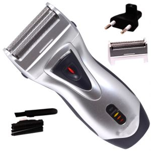 Trimmers - Toshiko Cordless Rechargeable Double Bladed Hair Shaver with Trimmer Clipper for Men (Code - SRTR111)