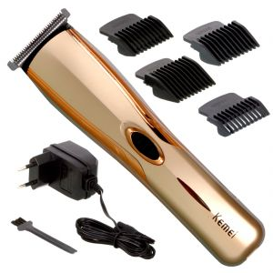 Trimmers - Cordless Electric Rechargeable Beard Mustache Hair Clipper Trimmer (Code - JM SR TR 142)