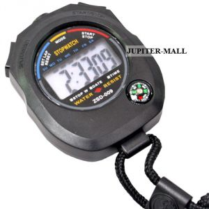 Jumbo Professional Digital Quartz Timer Stop Watch Alarm Clock Time -07