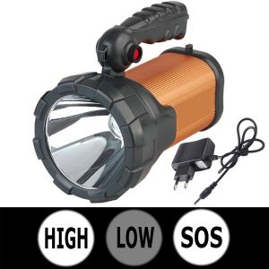 800m Beam Shot 3 Mode LED Rechargeable Waterproof Light Torch Flashlight (code - Jm Tr Ch 47)