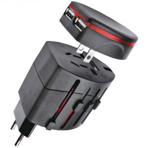 Universal Travel Power Ac Adapter Plug With USB Charger Au/us/uk/ Eu - 04