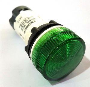 TEKNIC GREEN 3PLBR3L 125V DC LED Pilot Light NEW TEKNIC
