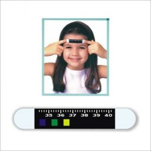 Thermometers - Fever Scan Forehead BoThermometer Strip Thermometer (5-Pieces)