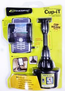Bracketron Universal Cup-it Mobile Holder Uch-101-bl