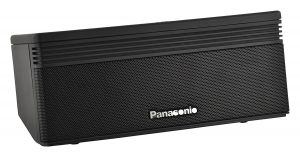 Panasonic,G Mobile Accessories - Panasonic Boombeats SCNA5GWK Wireless Portable Bluetooth Speaker (Black)