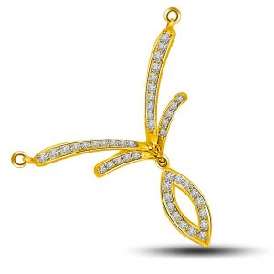 Surat Diamond A Ray Of Hope Diamond And Yellow Gold Pendant Dn187