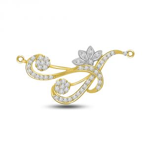 Surat Diamond Musical Life Gold & Diamond Pendant For Your Love Dn240