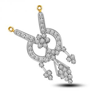 Surat Diamond Energy Of My Life Gold & Diamond Pendant For Her Dn243