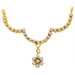 Surat Diamond Stylish Sensation - Diamond Necklace Pendant Dn35