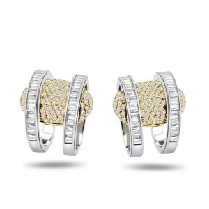 Surat Diamond 0.80 Ct Diamond Balis Earring Er171