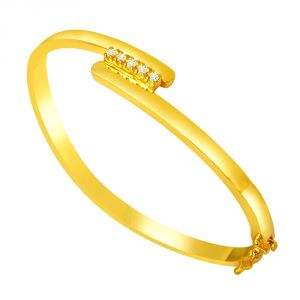 Surat Diamond Expressing Love Bracelet-(slbr6)