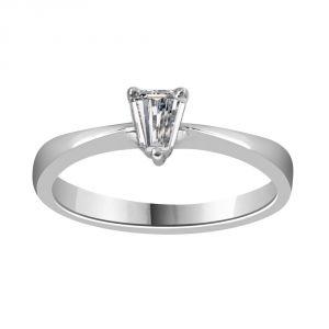 Jewellery - Surat Diamond 0.26ct Pentagon G/VS2 Engagement Delight Ring-(026GVS2)