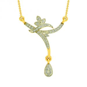 Surat Diamond Pretty Occasional Mangalsutra -(dn434)