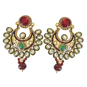 Surat Diamond Zaina Earrings-(pse56)