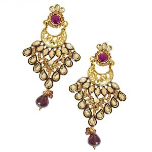 Surat Diamond Ajmal Earrings-(pse59)