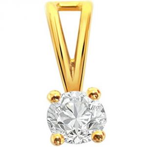 Surat Diamond North Star - 0.40ct Diamond Solitaire Pendant P571