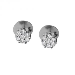 Surat Diamond Fantastic Female Diamond Earrings R39