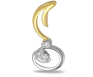 Surat Diamond Melody Of Love Diamond Pendant - P442