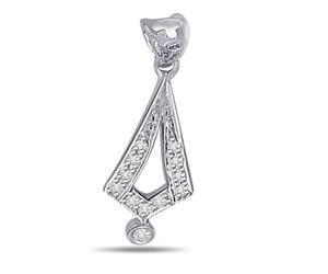Surat Diamond Feeling Love Diamond Pendant - P445