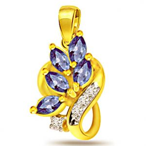 Surat Diamond Queen Of Love Diamond Pendant - P483