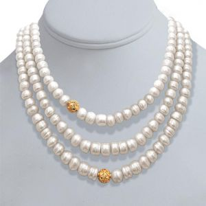 Surat Diamond Pearl N Pretty Necklace Sn244