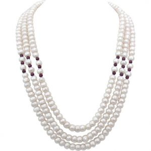 Surat Diamond Pearl Candy Floss Necklace Sn249