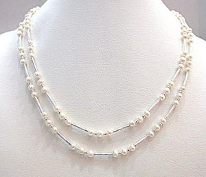 Surat Diamond Pearl Caramel N Cream Necklace Sn276