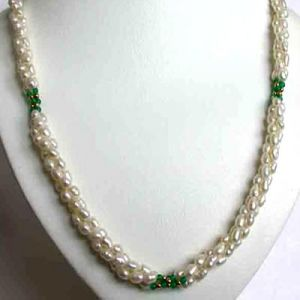 Surat Diamond Pearl Fantasy Necklace Sn30