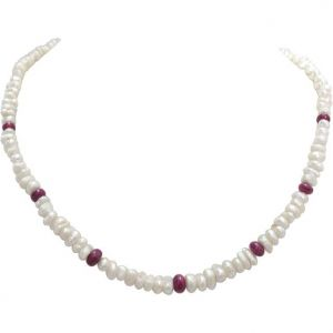 Surat Diamond Pearl Beloved N Beautiful Necklace Sn306
