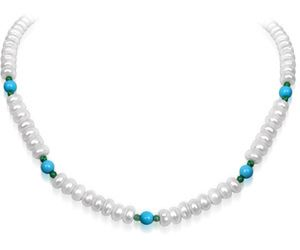 Surat Diamond Pearl Purity Necklace Sn97